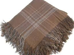 Woven Throw Rugs Old Antique Woven Stripe Wool Blankets Throw Blanket And Fold Over