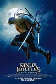 teenage mutant ninja turtles out of the shadows movie poster 11