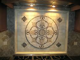 decorative tile inserts kitchen backsplash kitchen backsplash metal medallions tile backsplash medallions