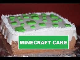 minecraft birthday cake easy diy tutorial