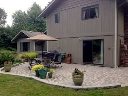 Concrete Slabs For Backyard by We Replaced The Owners U0027 Dated Concrete Slab Patio With Old World