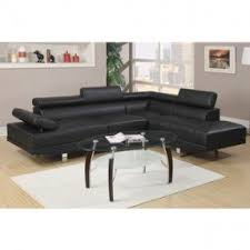 faux leather sectionals foter