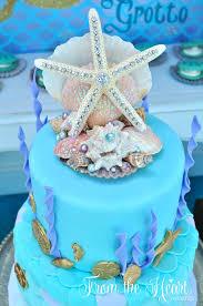 kara u0027s party ideas vintage glamorous little mermaid birthday party