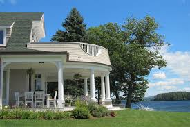 New England Homes by Custom Vacation Homes New England Lake House