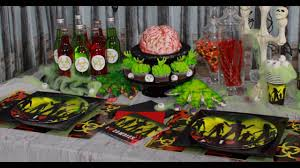 zombie party decoration ideas youtube