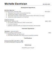 Electrician Resume Sample by Industrial Electrician Resume Samples Resumedoc