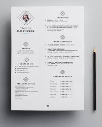 Creative Resumes Templates Free 7 Best Creative Resume Template Images On Pinterest Best Resume
