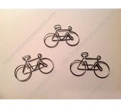 shaped paper bicycle bike unique gifts