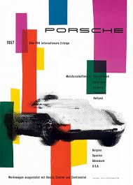 50s Design Vintage Porsche Posters From The 50s Designer Daily Graphic And