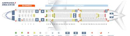 a340 seat map seat map airbus a340 300 air best seats in plane