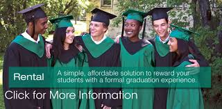 high school cap and gown rental graduation high school gaspard online store