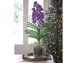 vanda orchid blue vanda orchid bloom artificial flowers