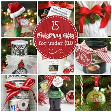 christmas gifts 10 25 creative christmas gift ideas that cost 10