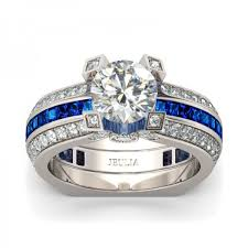 wedding ring sets south africa white and blue cubic zirconia 925 sterling silver 18k platinum