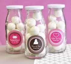 favor jars personalized milk bottles personalized favor jars shower favors