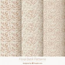 pack of vintage flower sketches patterns vector free download