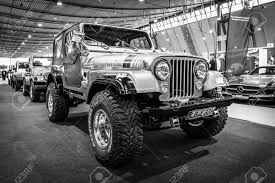 white and black jeep wrangler stuttgart germany march 17 2016 off road jeep wrangler
