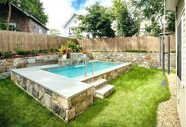 garden pool design most garden pool yard design ideas small