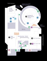 Museum Floor Plan Floor Maps The Tech