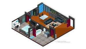 Room Design Builder Isometric Map Builder Vector City Map And Room Builder