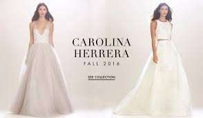 carolina herrera bridal carolina herrera s modern fall 2016 collection inside