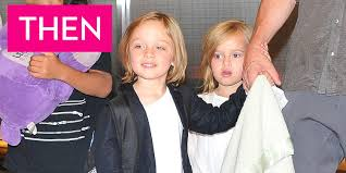 what vivienne and knox jolie pitt look like now angelina jolie