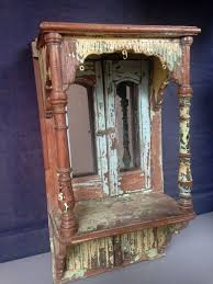 indian wooden wall reclaimed door panel light turquoise by hammerandhandimports