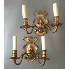 Electric Wall Sconces Vintage Brass Electric Wall Sconces Wall Sconces