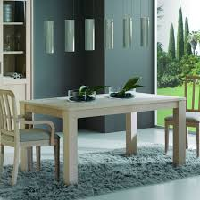 Table Bois Rallonges Integrees by Table Moderne Extensible En Bois Brin D U0027ouest