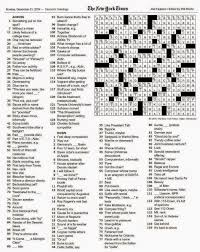the new york times crossword in gothic december 2014
