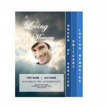 downloadable funeral bulletin covers free funeral program