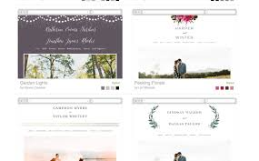 wedding websites the best wedding website builders onefabday