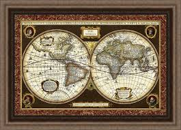 decorative world map framed best decoration ideas for you