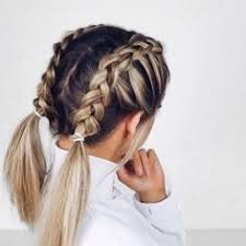 whats new in braided hair styles 39 trendy messy chic braided hairstyles braided ponytail