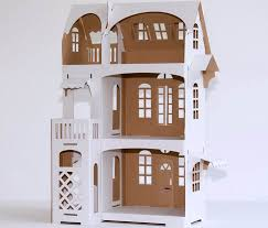 Dollhouse Decorating by Kids Will Love Decorating The Villa Cartabianca Cardboard