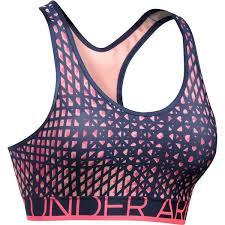 light pink sports bra under armour bras medium impact sports bra 1257632 40 liked