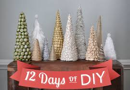 homemade christmas decorations homemade christmas tree easy