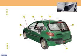 peugeot 206 owners manual 2003 documents