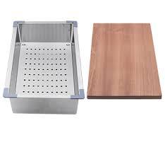 Everhard Kitchen Sinks Squareline Plus Sink Accessories Kit Everhard Industries