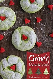 grinch cookies recipe in katrina u0027s kitchen