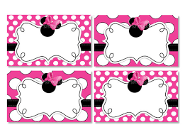 baby minnie mouse printable invitations