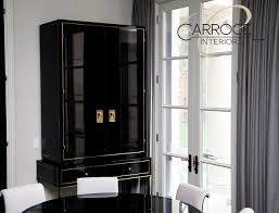 ravishing black lacquer dining room furniture interior kids room