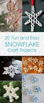 fun and easy snowflake craft projects
