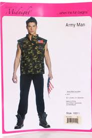 Army Halloween Costumes Olive Army Man Costume Amiclubwear Costume Store