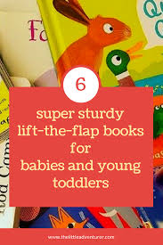 sturdy lift the flap books the little adventurer