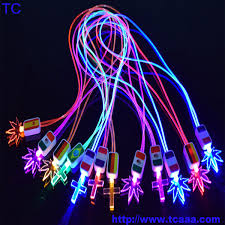 light led cross leave light necklace buy led