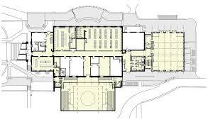 fitness center floor plan wfs dick gym alternate bartzen ball architects