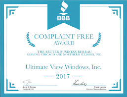 bureau windows better business bureau complaint free award view windows