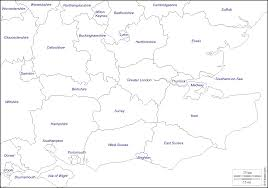 Counties Of England Map by South East England Free Map Free Blank Map Free Outline Map