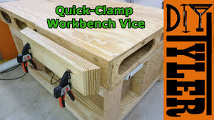 Work Bench With Vice Quick Clamp Vice For The Workbench Youtube